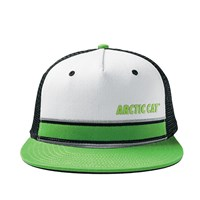 Arctic Cat Flat Brim Snap Back Cap