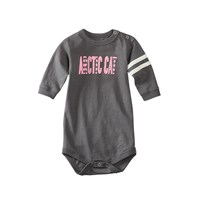 Arctic Cat Long-Sleeve Onesie Pink