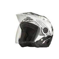 Arctic Cat Open Face Helmet Gloss Black - Medium