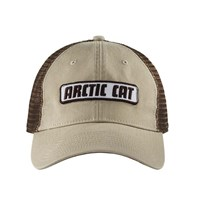 Arctic Cat Khaki Mesh Back Cap