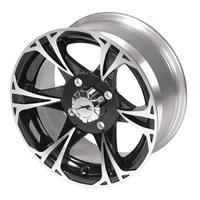 Black MagicFront Aluminum Rim 14 X 6.5