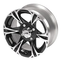 Black Magic Rear Aluminum Rim 14 X 8