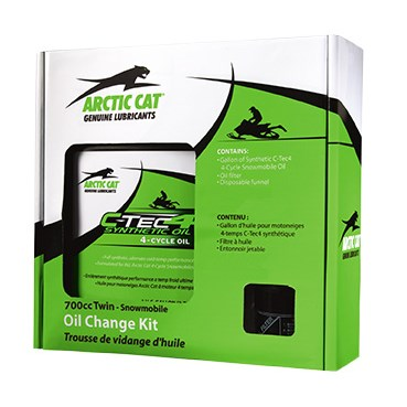 C-Tec 4 Synthetic Oil Change Kit