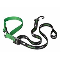 Deluxe Tie-Downs - Black/Green