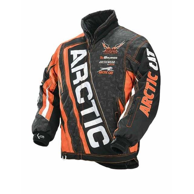 Team Arctic Jacket Orange | CyclePartsNation Arctic Cat ...