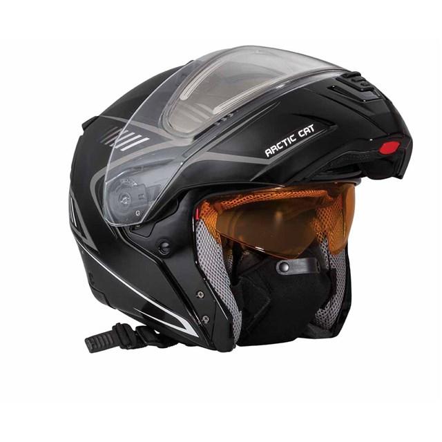 Arctic Cat Modular Helmet Black | Babbitts Arctic Cat ...