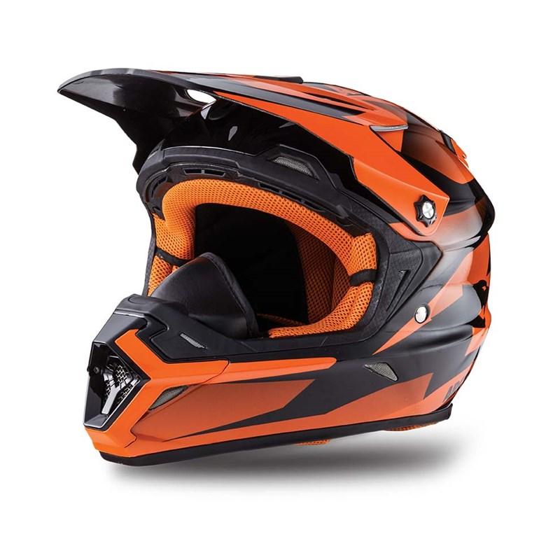 Arctic Cat Unisex Adult Flip-Up TXI Helmets Orange 2X-Large 5272-248