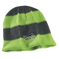 Aircat Striped Beanie Lime