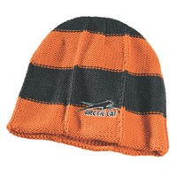 Aircat Striped Beanie Orange