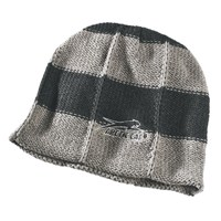 Aircat Striped Beanie Gray
