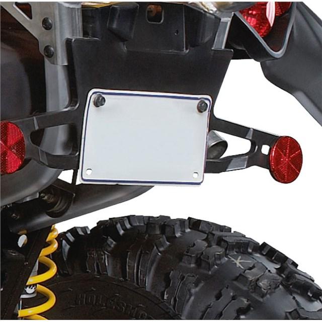 Yamaha Atv License Plate Bracket