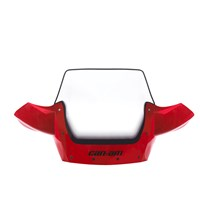 High Windshield Kit - Red