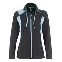 Ladies' Zipped Micro-Polyester