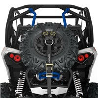 Baja-Style Spare Tire Holder - Octane Blue