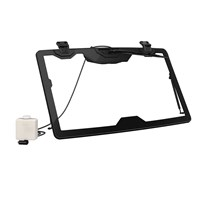 Flip Glass Windshield With Wiper and Washer Kit
