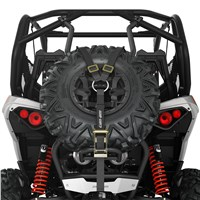 Baja-Style Spare Tire Holder - Black