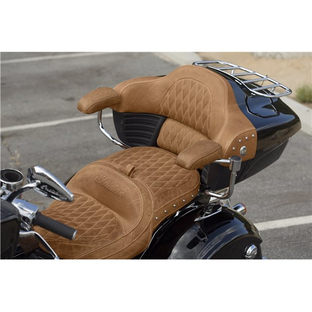 Genuine Leather Trunk Backrest Pad