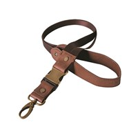 Brown Leather Lanyard by Indian Motorcycle