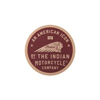 American Icon Leather Patch by Indian Motorcycle