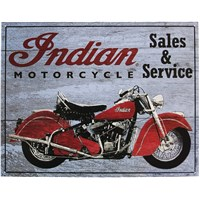 1953 Roadmaster Chief Sign- Gray by Indian Motorcycle®