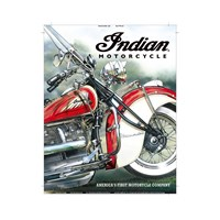 America's Pioneer Sign by Indian Motorcycle