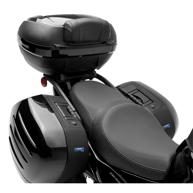 Motorcycle Parts In Germantown Mail: KQR™ 47 Liter Top Case, Backrest Pad