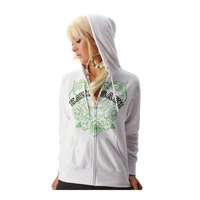 Women's Flower Hooded Sweatshirt