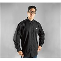 Company Button Front Long Sleeve Shirt