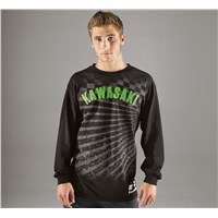 Checkered Rays Long Sleeve T-Shirt