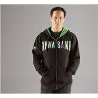 Stallion Zip-Front Hooded Sweatshirt
