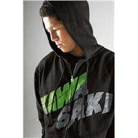 Sway Zip-Front Hooded Sweatshirt