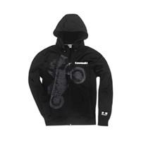 Wheelie Technical Zip-Front Hooded Jacket