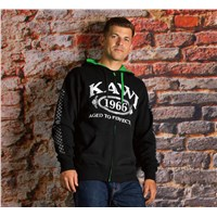 Aged To Perfection Zip-Front Hooded Sweatshirt