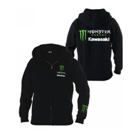 Monster Energy® Kawasaki Zip-Front Hooded Sweatshirt