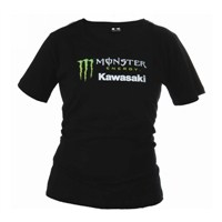 Women's Monster Energy® Kawasaki Pearlescent Logo Tee - Missy Fit