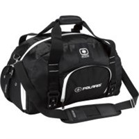 Black/White Polaris® Ogio Big Dome Duffle By Polaris®