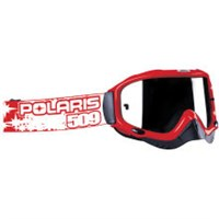 509 FOR POLARIS DIRT PRO GOGGLE, SIGNATURE, RED