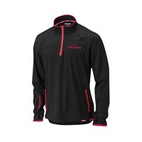Black Annapurna Mid Layer 1/4 Zip Fleece By Polaris®