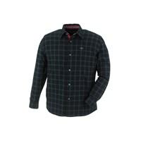 Black Teton Plaid Check Flannel Shirt By Polaris®