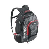 Ogio for Polaris Bandit Backpack Subtle Stripe - Black/Red