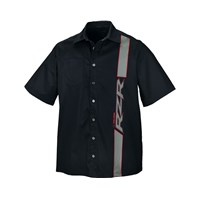 RZR® Mens PS-4 Extreme Pit Shirt - Black/Red/Gray by Polaris®