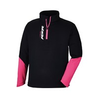 RZR® Youth Lift Quarter Zip- Black/Pink by Polaris®