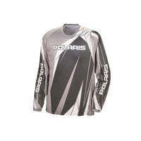 Off-Road Riding Jersey - Gray by Polaris®
