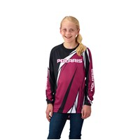 Youth Off-Road Riding Jersey - Pink by Polaris®