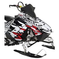 Red Burandt Ripcord Wrap, Hood/Side Panel