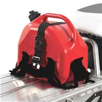 Adjustable Fuel Can Rack- Black