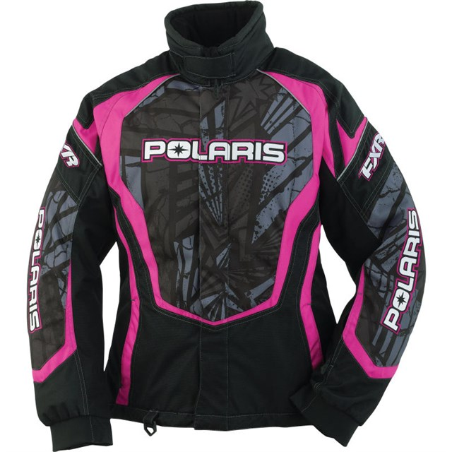 Pink/Black Womens FXR® Throttle Jacket