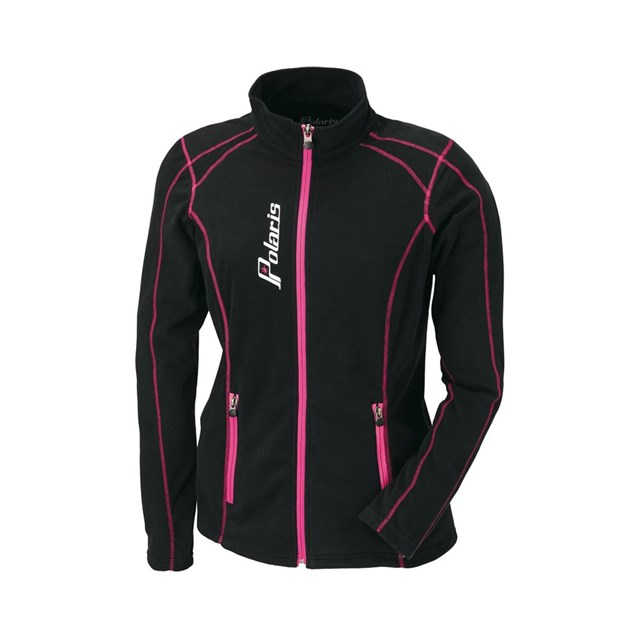 brand new 62a6d 8fabf Women's Full Zip Ice Fleece - Black/Pink | Polaris Miami