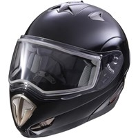 Modular Full Face Snowmobile Helmet - Black