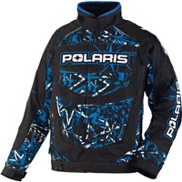 Blue FXR For Polaris® Throttle Jacket, Voodoo North Star Print